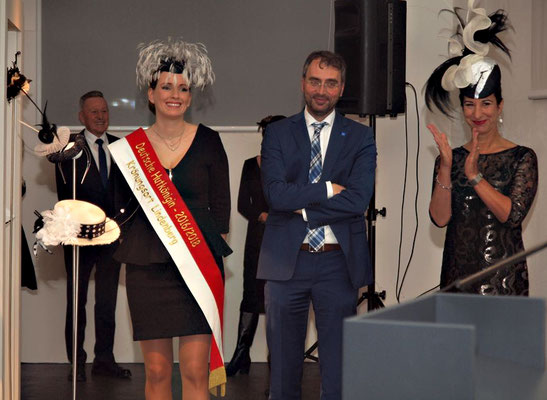 Janine Halder, Bürgermeister Ballerstedt, Conny Brendle, Foto: Reinhard Rapp