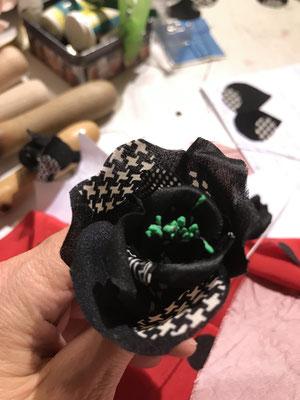 CHRISTINE ROHR ACADEMY - French Flowers Oktober 2020 - Modisten & Hutmacher Workshops