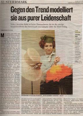 AUS PURER LEIDENSCHAFT - Kleine Zeitung