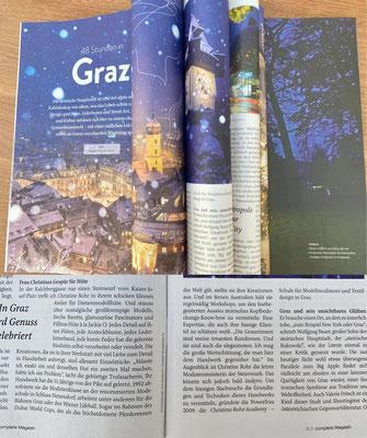 Complete Magazin Dezember 2020 - Christine Rohr Master Milliner