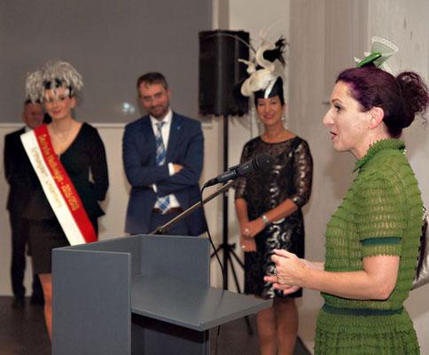Janine Halder, Bürgermeister Ballerstedt, Conny Brendle, Christine Rohr, Foto: Reinhard Rapp
