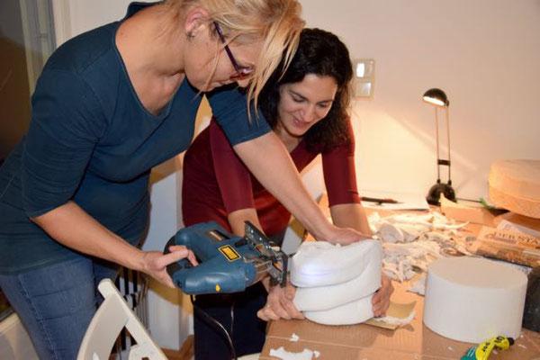 Christine Rohr Academy - Modul 4 Formenbau - Dezember 2016