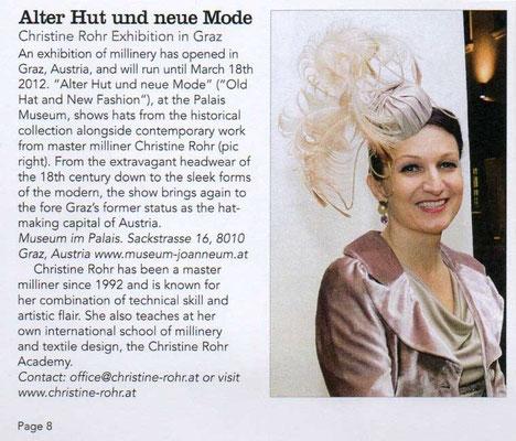 ALTER HUT UND NEUE MODE - The Hat Magazin