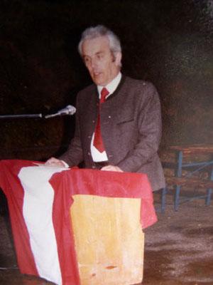 eh. Bürgermeister Anton Baumgartner