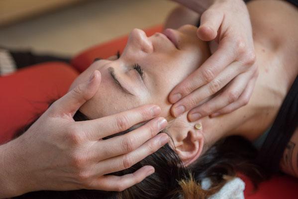 Kopfschmerzen und Migräne, Kieferschmerzen, Nackenschmerzen, Nackenverspannungen Gelenkschmerzen, Muskelschmerzen, Rückenschmerzen, Becken- und ISG Blockaden, Beckenschiefstand, Tinnitus und Sinitus, Schlafprobleme, Stress, Schleudertrauma,