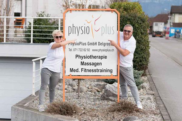 Rinaldo Delgrosso Conny Delgrosso Physiotherapiepraxis Physioplus Widnau Au Heerbrugg Balgach Berneck Diepoldsau Rebstein Rheintal ©nussbaumerphotography.com