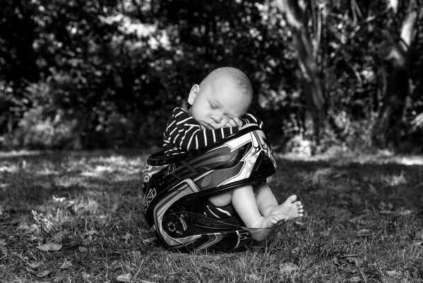 Newborn, Ammersbek, Biker, Outdoorportrait