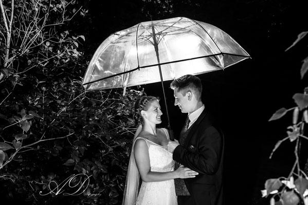 Regenschirm, Hochzeit, Tangstedt