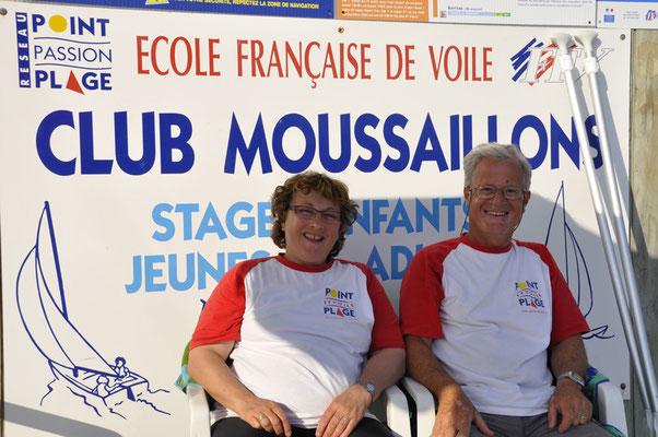 """Hélène & Pierre, les """"skippers"""""""