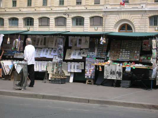 Die Händler an der Seine