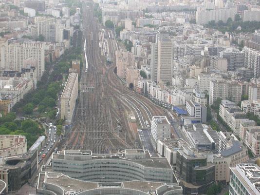 Eisenbahnlinie a. Montparnasse