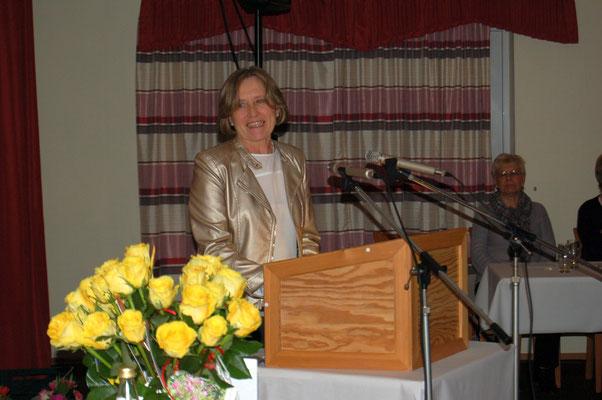 Kreisvorsitzende Anke Hesemann-Prenzler lobte die Verabschiedung als beeindruckend und total toll.