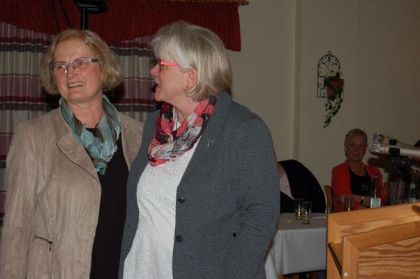 Helga Silber (l.) hat Imke Spinken in den Vorstand geholt – jetzt wurde sie ihre Nachfolgerin.