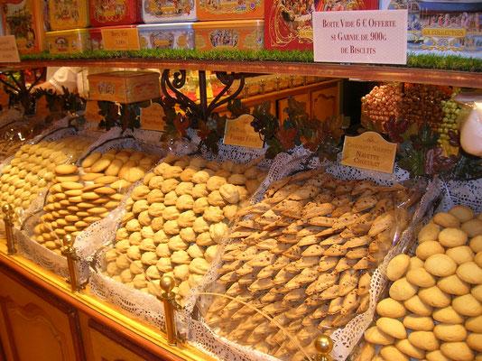 Spezialitätenladen  Kekse
