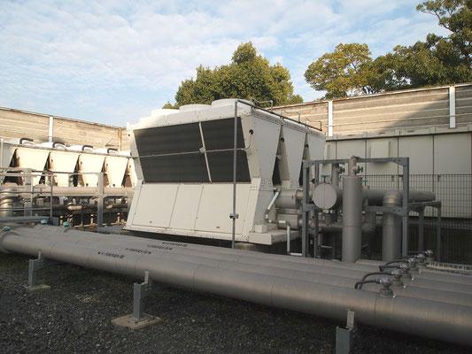 冷温水発生装置、スーパーフレックス・モジュールチラー(ヒートポンプ高効率仕様)