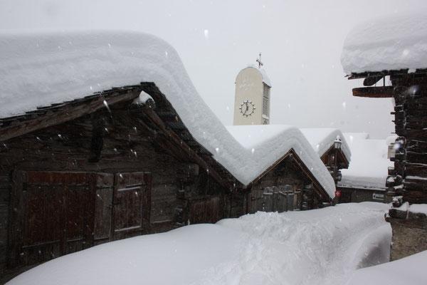 Schneeschuhtouren Wallis