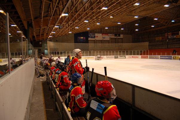 Eishalle für Traininslager Hockey Schweiz