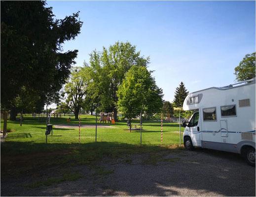 Camperstellplatz Mittelland
