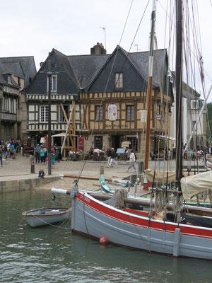 Der pitoreske Hafen von Auray