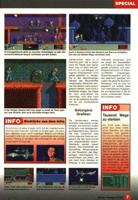 Preview in der Amiga Games Ausgabe  7/1997.