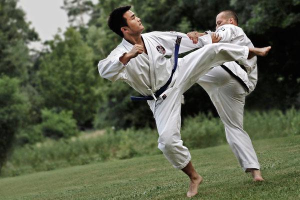 Kien und Tim  www.taekwondo-schwabach.de