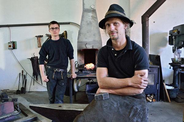 Peter Brunner (rechts) und Johannes