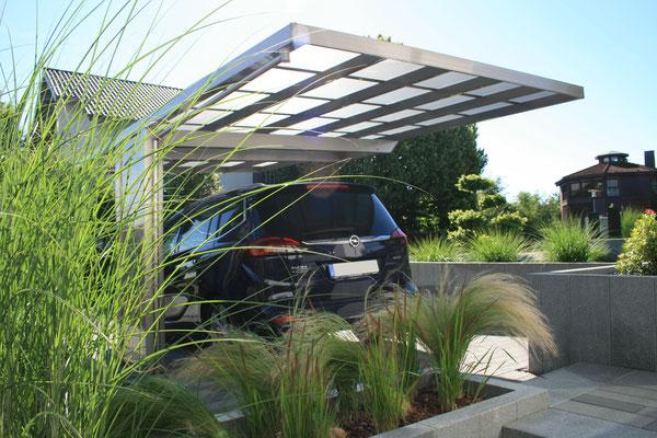 AluPort Montaco Designcarport aus Aluminium