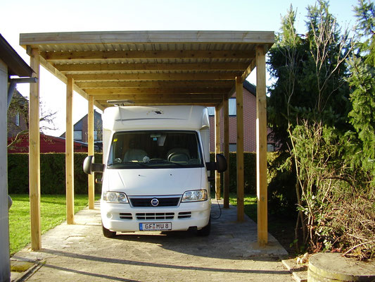 günstiges Caravancarport