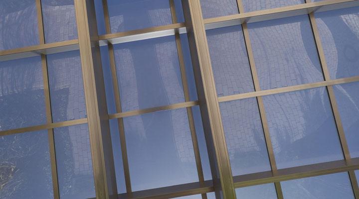 Detail Konstruktion und Dach AluPort Monaco