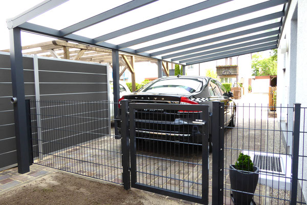 carports aus aluminium alucarports carportfabrik. Black Bedroom Furniture Sets. Home Design Ideas