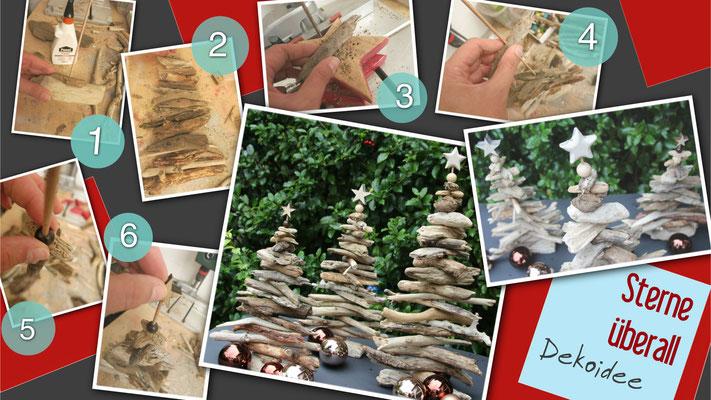 DIY - Unsere Anleitung in Bildern für die Driftwood Trees.