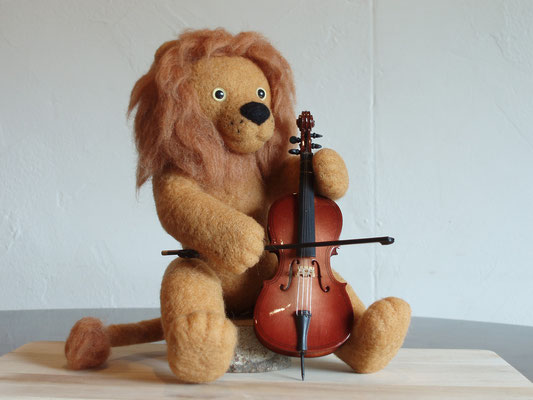 セロ弾きのライオン