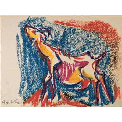 Studio di capra, 1968