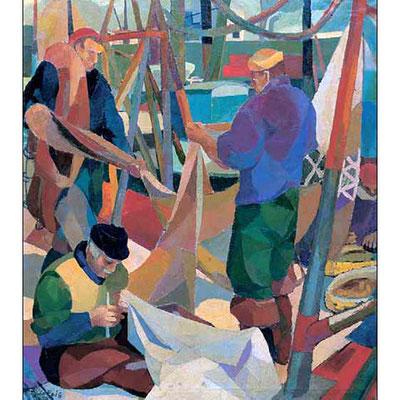 Pescatori in porto, 1958-59