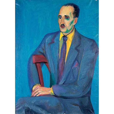 Ritratto di Raffaello Delogu, 1949