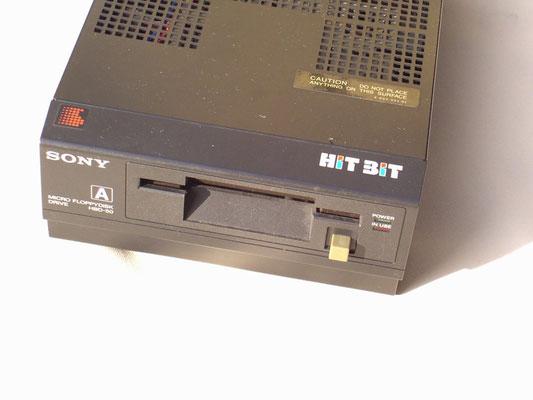 Sony HitBit HB-75, Micro Floppydisk Drive H?D-50