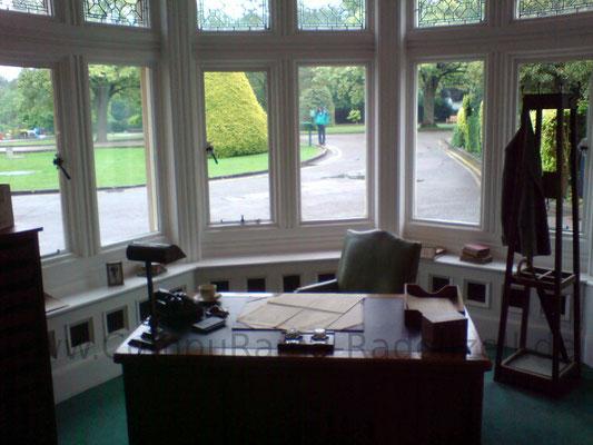 Büro des organisatorischen Leiters des Blatchley Parks.