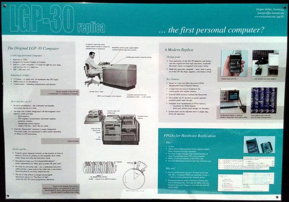 """Beschreibung des LGP-30. Mir erschien dieser Computer eher wie ein sehr früher Vorläufer der Mittleren Datentechnik. <a href=""""https://en.wikipedia.org/wiki/LGP-30"""" target=""""_blank"""" >https://en.wikipedia.org/wiki/LGP-30</a>"""