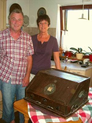 T9 mit den Spendern Herr und Frau Lempp.