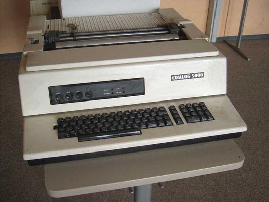 COMLOG 5000  Drucker und Fakturiermaschine für die Maschien E4