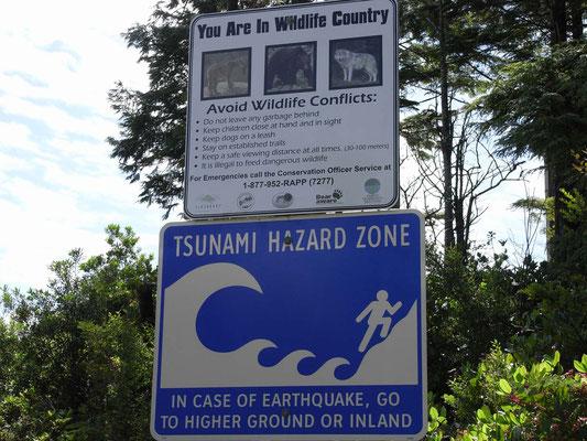 Warnung vor allen Eventualitäten