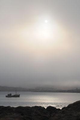 Camping Lüderitz - Der Morgen im Nebel