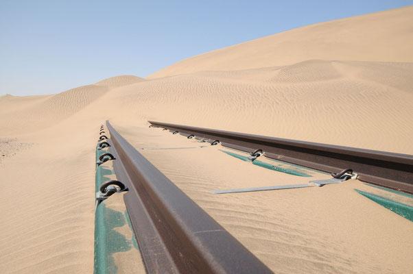 Die Eisenbahnlinie von Lüderitz nach Aus