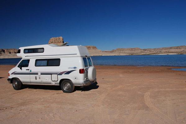 Camping Lone Rock - Lake Powell
