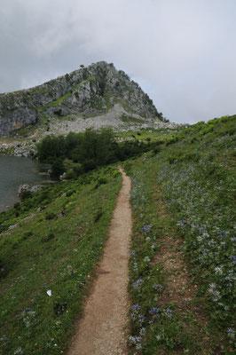 Wanderweg in den Picos