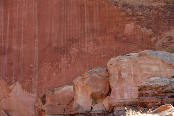 Capitol Reef Nationalpark - Petroglyphen