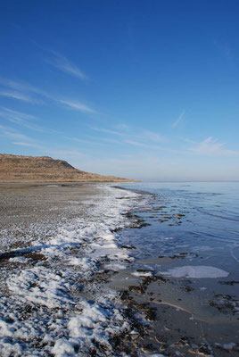 Antelope Island - Salzsee