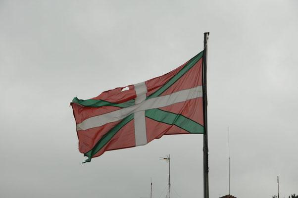Die baskische Flagge