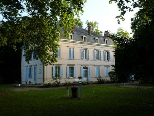 Das Anwesen auf dem Campingplatz