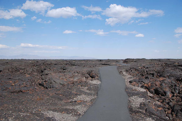 Craters Cave area